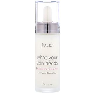 Julep, What Your Skin Needs, Restorative Facial Milk, 1 fl oz (29.6 ml)