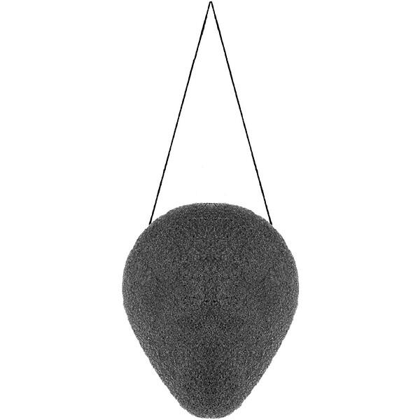 Esponja de konjac de carbón vegetal, 1 esponja