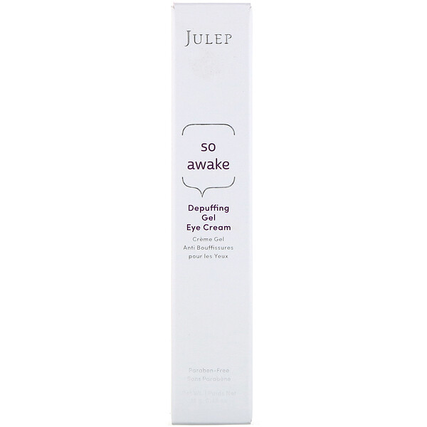 Julep, So Awake, Depuffing Gel Eye Cream, 0.42 oz (12 g) (Discontinued Item)