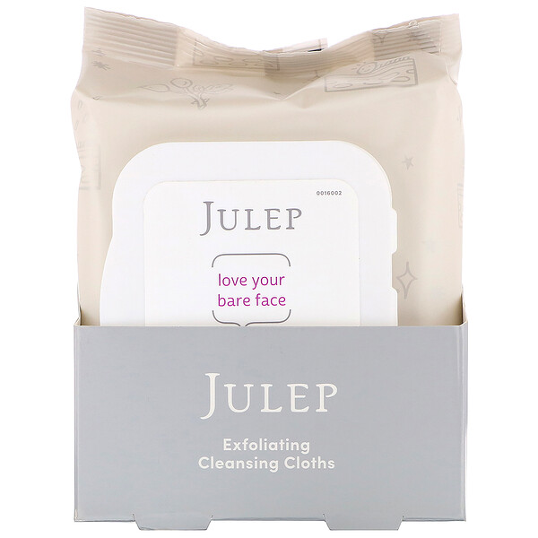 Love Your Bare Face, Exfoliating Cleansing Cloths, 30 Towelettes