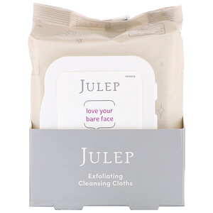 Julep, Love Your Bare Face, Exfoliating Cleansing Cloths, 30 Towelettes отзывы