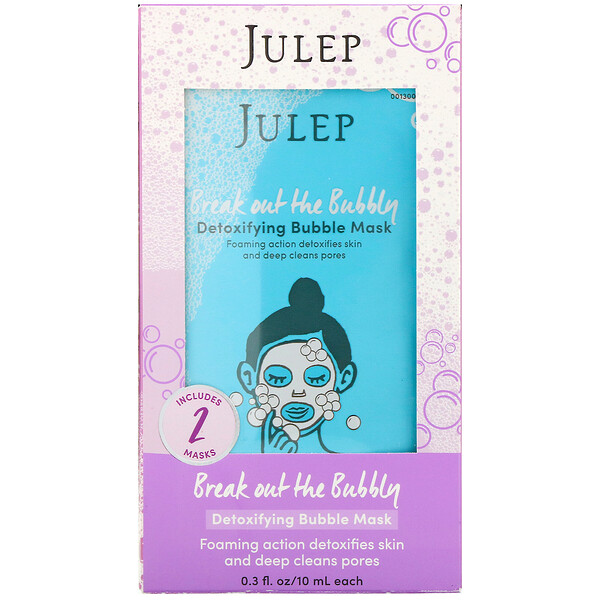Break Out the Bubbly, Detoxifying Bubble Mask, 2 Masks