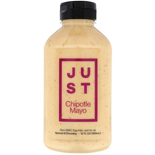 Just Mayo, Just Chipotle Mayo, 12 fl oz (355 ml)