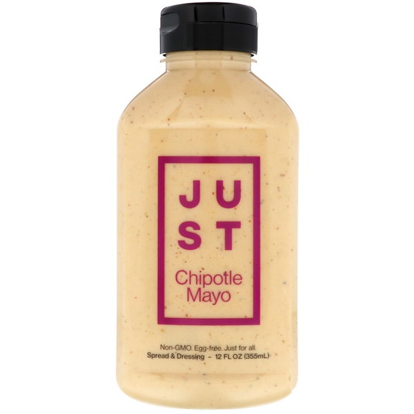 Just Mayo, Just Chipotle Mayo, 12 fl oz (355 ml) (Discontinued Item)