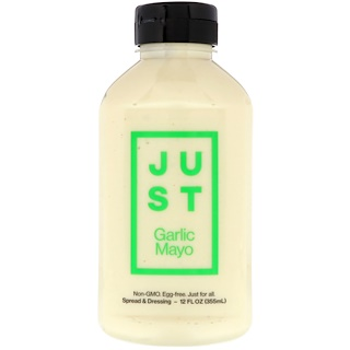 Just Mayo, Just Garlic Mayo, 12 fl oz (355 ml)