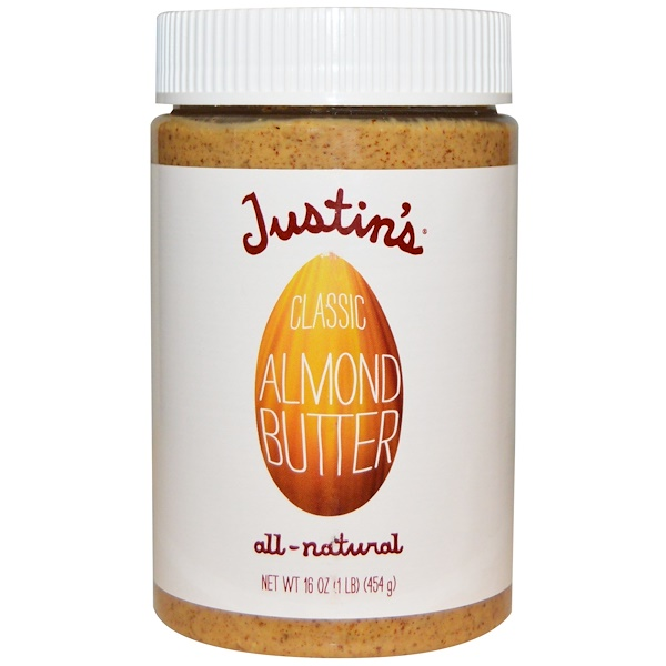 Justin's Nut Butter, Classic Almond Butter, 16 oz (454 g)