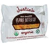 Justin's Nut Butter, Organic Peanut Butter Cups, Dark Chocolate, 10 Wrapped Cups, 0.5 oz (15 g) Each (Discontinued Item)