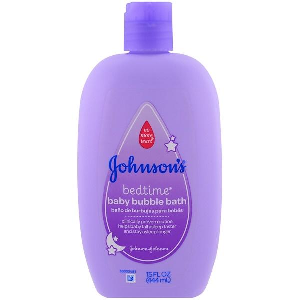 Johnson's, Baby Bedtime, пена для ванны, 15 жидких унции (444 мл) (Discontinued Item)