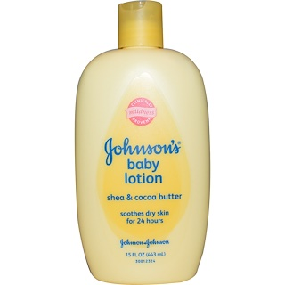 Johnson's, Baby Lotion, Shea & Cocoa Butter, 15 fl oz (443 ml)