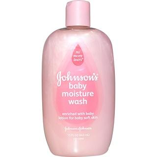 Johnson's Baby, Baby Moisture Wash, 15 fl oz (443 ml)