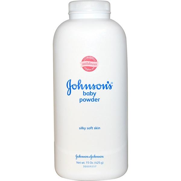 Johnson & Johnson, ベビーパウダー、オリジナル、15オンス(425 g) (Discontinued Item)