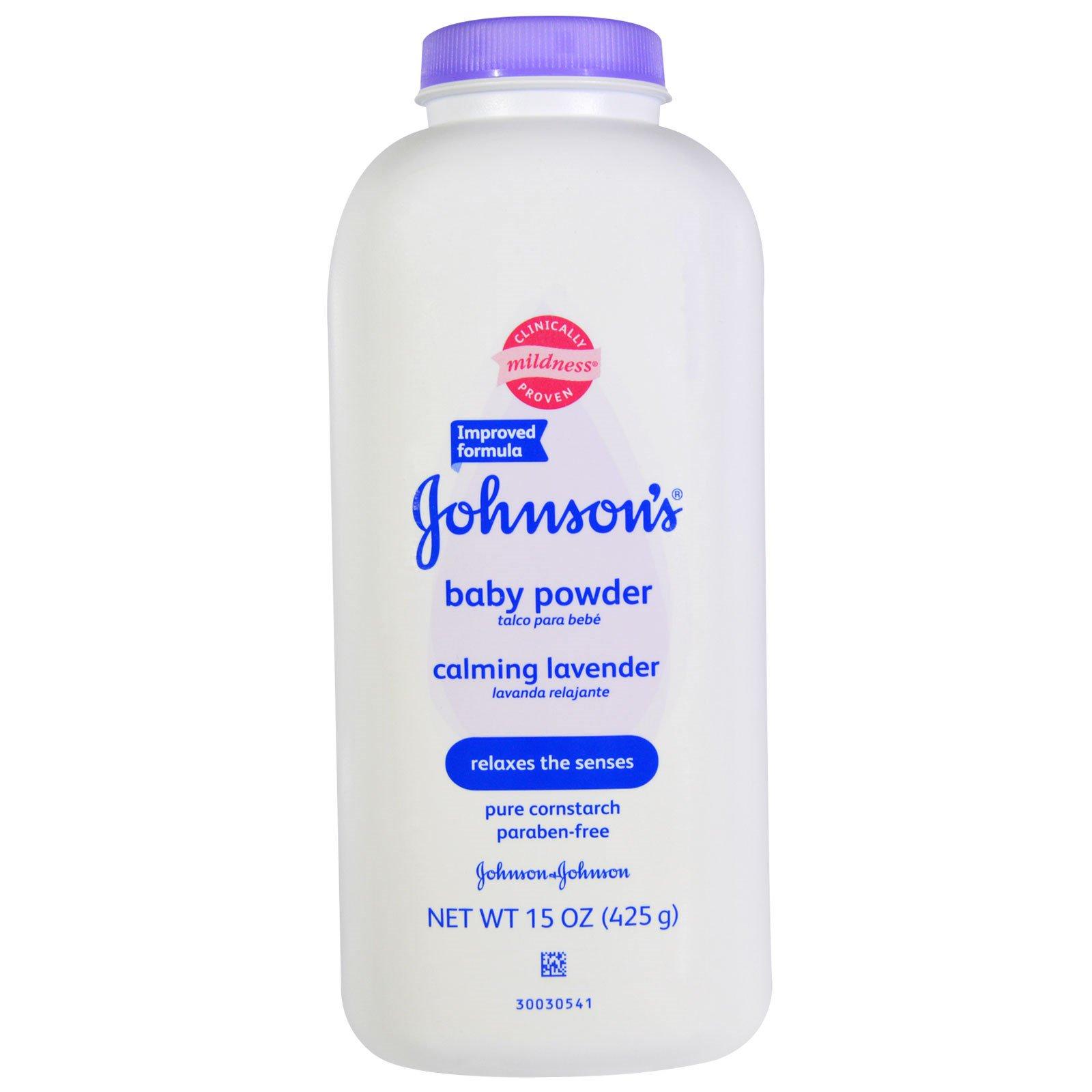 Johnson S Baby Powder Calming Lavender 15 Oz 425 G