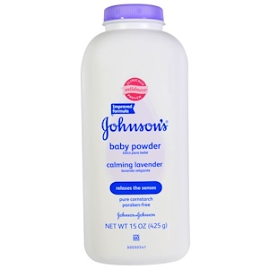 Джонсонс Бэйби, Baby Powder, Calming Lavender, 15 oz (425 g) отзывы