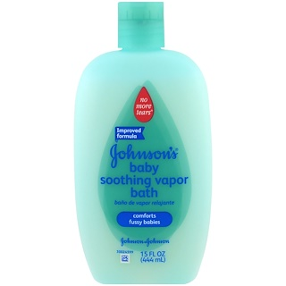 Johnson's, Soothing Vapor Baby Bath, 15 fl oz (444 ml)