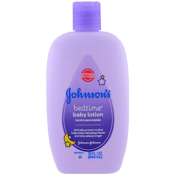 Johnson's, Baby Bedtime Lotion, 15 fl oz (444 ml) (Discontinued Item)
