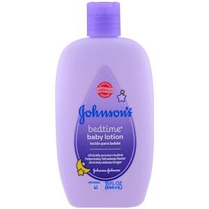 Джонсонс Бэйби, Baby Bedtime Lotion, 15 fl oz (444 ml) отзывы покупателей