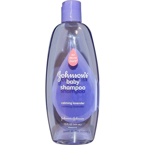 Johnson's, Детский шампунь, успокаивающая лаванда, 15 жидких унций (444 мл) (Discontinued Item)
