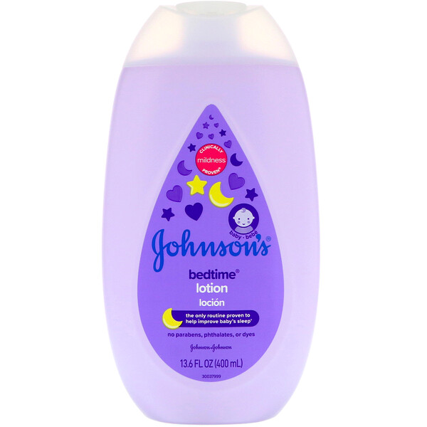 Johnson & Johnson, Bedtime, Lotion, 13.6 fl oz (400 ml)