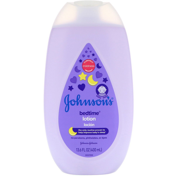 Johnson's, Bedtime, Lotion 13.6 fl oz (400 ml)