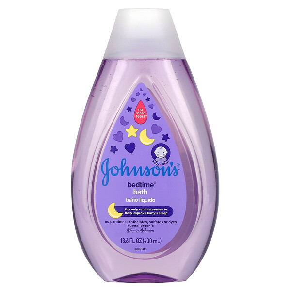 Johnson's Baby, Bedtime, Bath, 13.6 fl oz (400 ml)