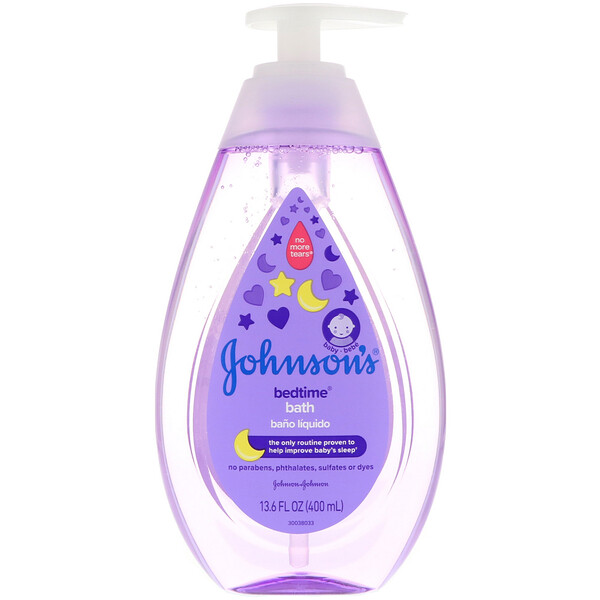 Johnson & Johnson, Bedtime, Bath, 13.6 fl oz (400 ml)