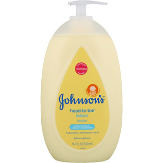 Johnson's, Head-To-Toe, Lotion, 16.9 fl oz (500 ml)
