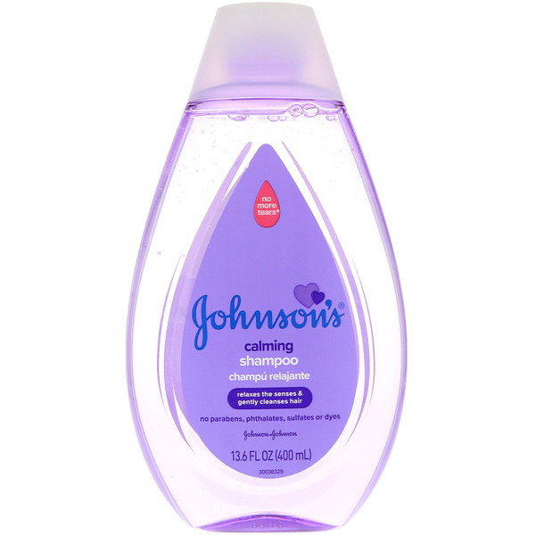 Johnson & Johnson, Calming Shampoo, 13.6 fl oz (400 ml)