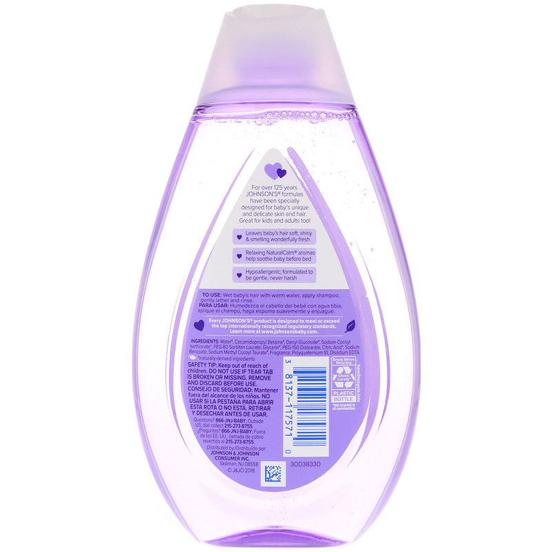 Johnson & Johnson, Calming Shampoo, 13.6 fl oz (400 ml) - photo 1