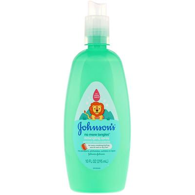 Johnson & Johnson No More Tangles, Detangling Spray, 10.2 fl oz (295 ml)