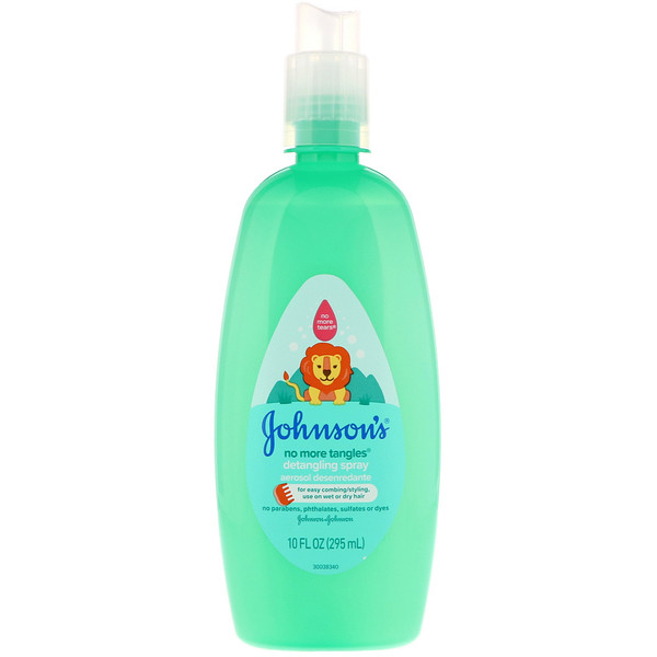 Johnson's, No More Tangles, Detangling Spray, 10.2 fl oz (295 ml)