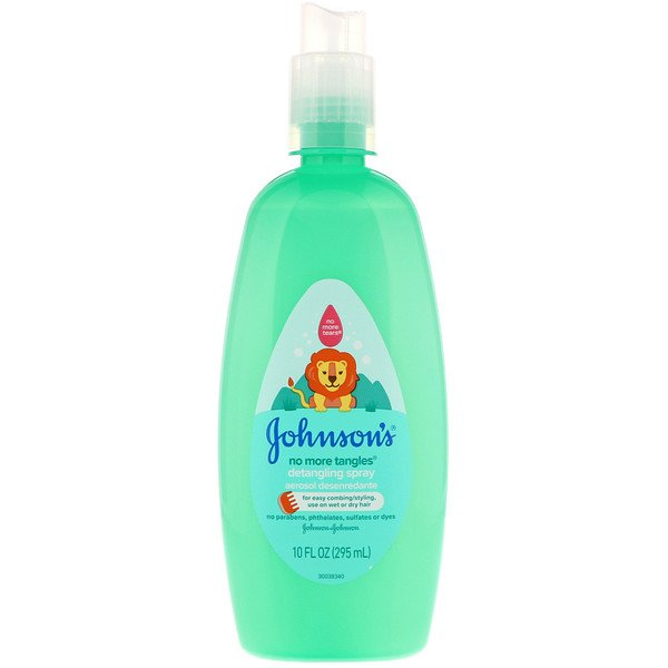 Johnson & Johnson, No More Tangles, Detangling Spray, 10 fl oz (295 ml)