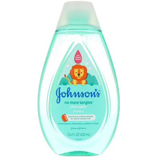 Johnson & Johnson, No More Tangles, Shampoo, 13.6 fl oz (400 ml)