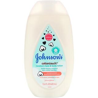 Johnson's, Cottontouch, Newborn Face & Body Lotion, 13.6 fl oz (400 ml)