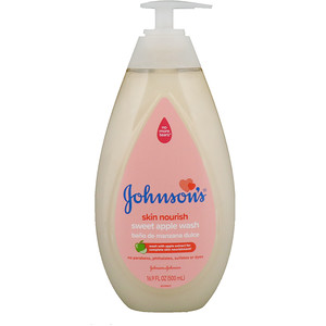 Джонсонс Бэйби, Skin Nourish, Sweet Apple Wash, 16.9 fl oz (500 ml) отзывы покупателей
