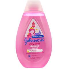 Johnson's Baby, 兒童,發亮和柔順,洗髮水,13.6 盎司(400 毫升)