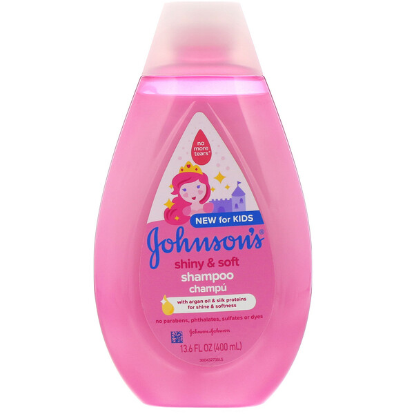 Kids, Shiny & Soft, Shampoo, 13.6 fl oz (400 ml)