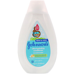 Johnson's Baby, 兒童,超補水,護髮素,13.6 液量盎司(400 毫升)
