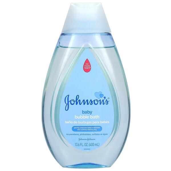 Johnson's Baby, Baby Bubble Bath, 13.6 fl oz (400 ml)