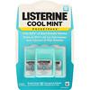 Listerine, Pocketpaks, охлаждающая мята, 3 упаковки, по 24 полоски в каждой