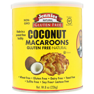 Jennies Gluten Free Bakery, Coconut Macaroons, 8 oz (226 g)