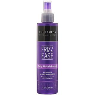 John Frieda, Frizz Ease, Daily Nourishment, Leave-In Conditioner, 8 fl oz (236 ml)
