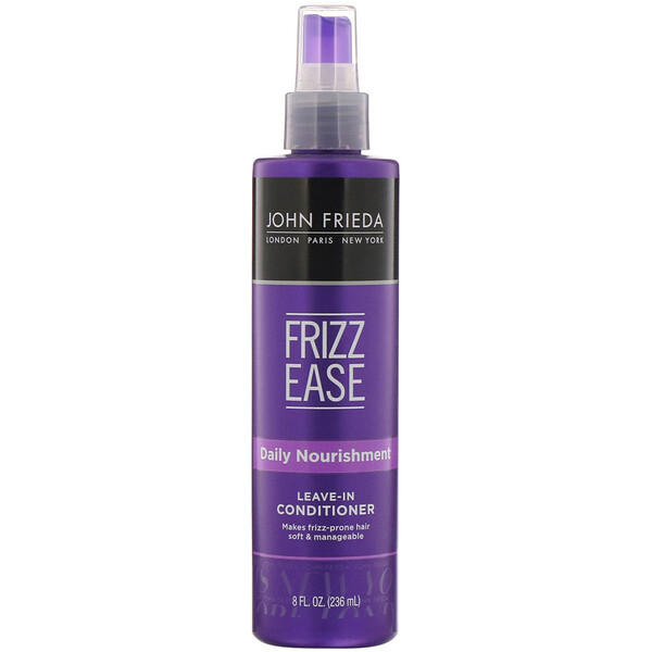 John Frieda, Frizz Ease, Daily Nourishment, Soin démêlant sans rinçage, 236 ml