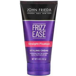 John Frieda, Frizz Ease, Straight Fixation, Styling Creme, 5 oz (141 g)