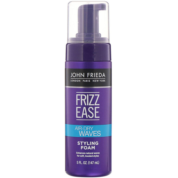 John Frieda, Frizz Ease, Air-Dry Waves, Mousse coiffante, 147ml (Discontinued Item)