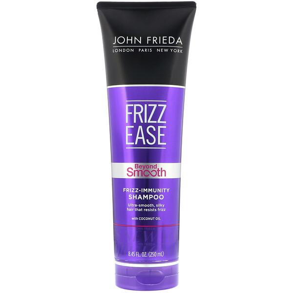 Frizz Ease, Beyond Smooth, Shampoo imunidade contra frizz, 250 ml