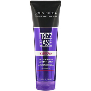 John Frieda, Frizz Ease, Beyond Smooth, Frizz-Immunity Conditioner, 8.45 fl oz (250 ml) отзывы