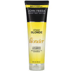 John Frieda, Sheer Blonde, Go Blonder, Lightening Shampoo, 8.3 fl oz (245 ml)
