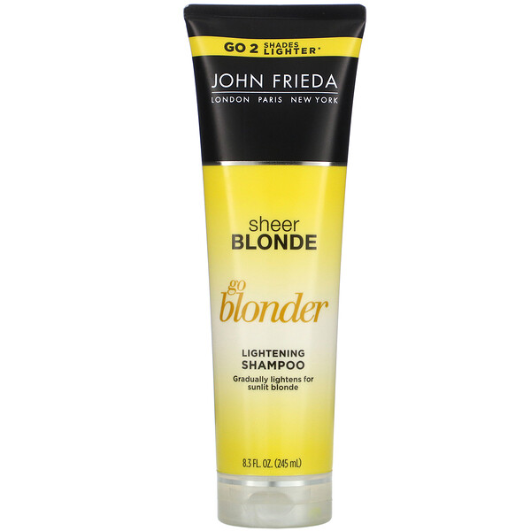 Shampoing éclaircissant Sheer Blonde, Go Blonder, 245 ml