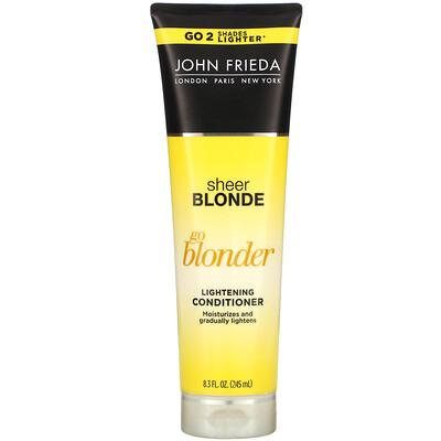 Купить John Frieda Осветляющий кондиционер Sheer Blonde, Go Blonder, 245мл