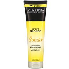 John Frieda, Sheer Blonde, Go Blonder, Lightening Conditioner, 8.3 fl oz (245 ml)